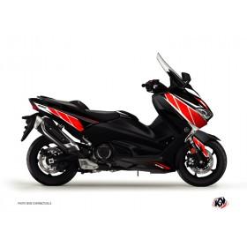 Kit déco KUTVEK Replica rouge/noir Yamaha T-Max 530
