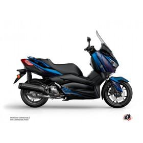 Kit déco KUTVEK Replica bleu/noir Yamaha X-Max 400