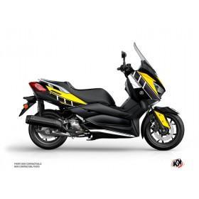 Kit déco KUTVEK Vintage jaune Yamaha X-Max 125
