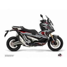 Kit déco KUTVEK Energy gris/rouge Honda X ADV
