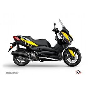 Kit déco KUTVEK Vintage jaune Yamaha X-Max 300