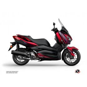 Kit déco KUTVEK Replica rouge/noir Yamaha X-Max 300