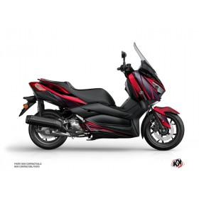 Kit déco KUTVEK Replica rouge/noir Yamaha X-Max 125
