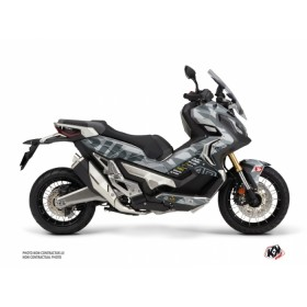 Kit déco KUTVEK Replica Bihr gris Honda X ADV