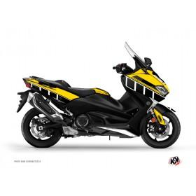 Kit déco KUTVEK Vintage jaune Yamaha T-Max 530
