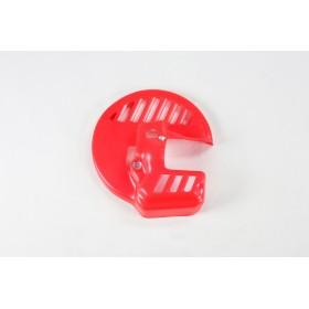 Protège-disque avant UFO rouge Honda