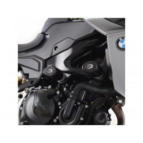 Tampons de protection R&G RACING Aero moteur arrière - noir BMW F900 R/XR