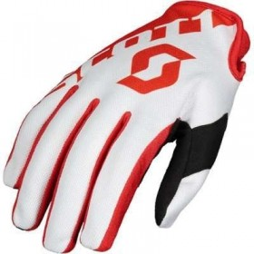 GLOVE 250 RED/WHITE S