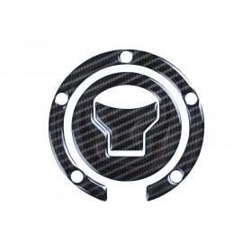 Protection de bouchon de réservoir R&G RACING Red Dynamic fibre de carbone Honda