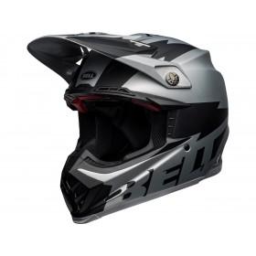 Casque BELL Moto-9 Flex Breakaway Matte Silver/Black taille S