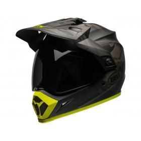 Casque BELL MX-9 Adventure Mips Stealth Camo Matte Black/Hi-Viz taille S