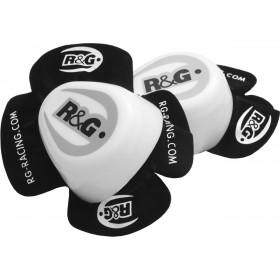 Sliders genou R&G RACING Aero blanc