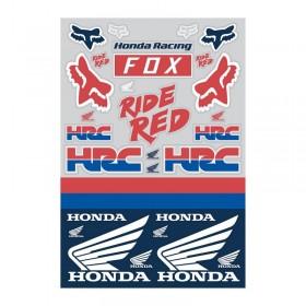 HONDA TRACK PACK [WHT/RD/BLU] OS