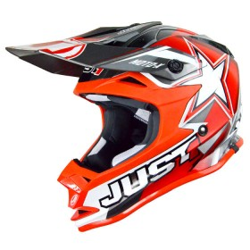 Casque JUST1 J32 Moto X Red taille XS