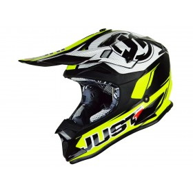 Casque JUST1 J32 Pro Rave Black/Neon Yellow taille S