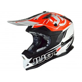 Casque JUST1 J32 Pro Rave Black/Orange taille M