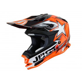 Casque JUST1 J32 Moto X Orange taille XS