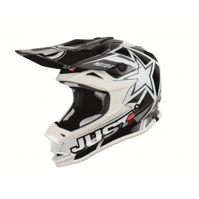 Casque JUST1 J32 Moto X White taille L