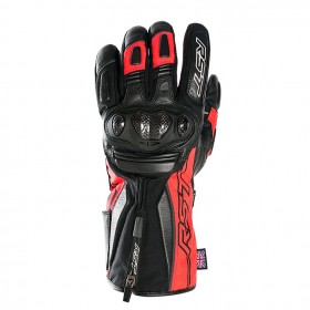 Gants RST Paragon V CE Waterproof cuir/textile rouge taille S/08 homme