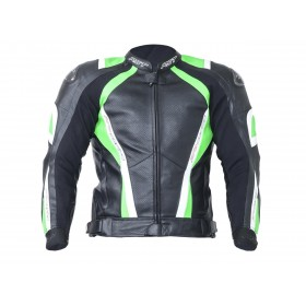 Veste RST Pro Series CPX-C cuir neon green taille S homme