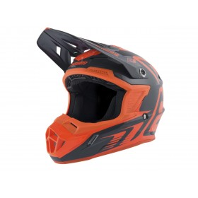 Casque ANSWER AR1 Edge Charcoal/orange fluo taille M