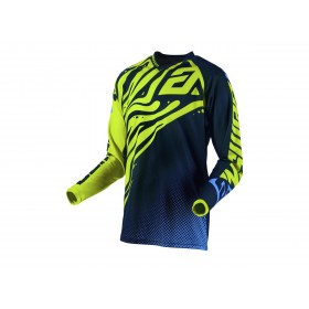 Maillot ANSWER Syncron Flow Hyper Acid/Midnight/Astana taille L
