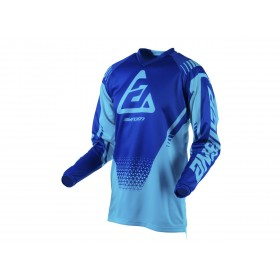 Maillot ANSWER Syncron Drift Astana/Reflex Blue taille L