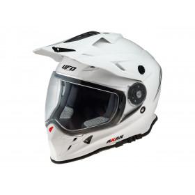 Casque UFO Akan Enduro Adventure blanc taille M