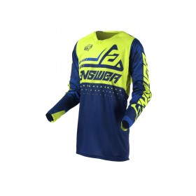 Maillot ANSWER Elite Discord Midnight/Hyper Acid taille S
