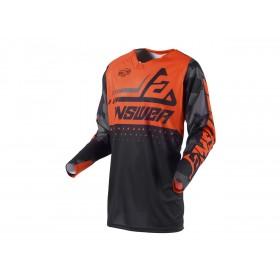Maillot ANSWER Elite Discord noir/orange taille XL