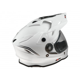 Casque UFO Akan Enduro Adventure blanc taille XS