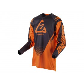 Maillot ANSWER Syncron Drift Junior orange fluo/Charcoal taille YXL