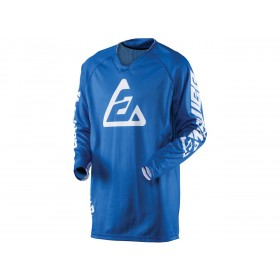 Maillot ANSWER Elite Solid bleu taille S