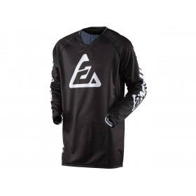 Maillot ANSWER Elite Solid noir taille L