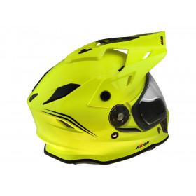Casque UFO Akan Enduro Adventure Neon Yellow taille S