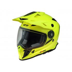 Casque UFO Akan Enduro Adventure Neon Yellow taille XS