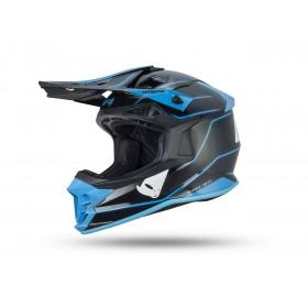 Casque UFO Intrepid noir/bleu taille L