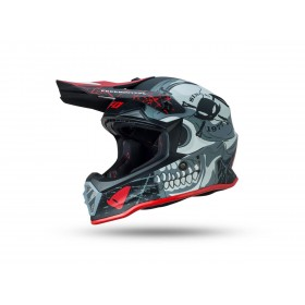 Casque UFO Freebooter JNR blanc/noir/rouge taille S