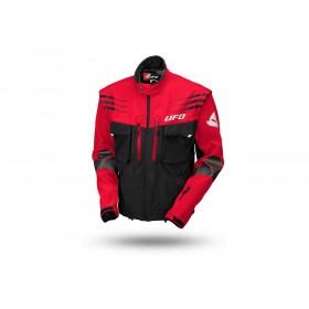 Veste UFO Taiga noir/rouge taille L