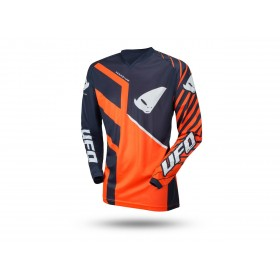 Maillot UFO Vanadium JNR orange fluo taille XXXS