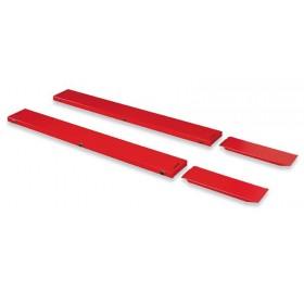 Extensions latérales BIKE LIFT standard rouge 210x30cm pour MAX 504