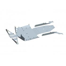 Protection de châssis complète ART aluminium Polaris