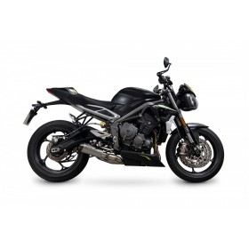 Silencieux SCORPION Red Power - Triumph Street Triple 765
