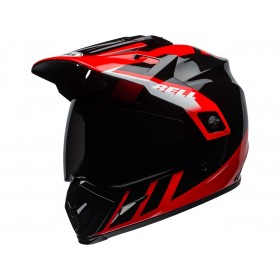 Casque BELL MX-9 Adventure Mips Dash Gloss Black/Red/White