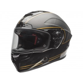 Casque BELL Race Star DLX Ace Cafe Matte Black/Gold