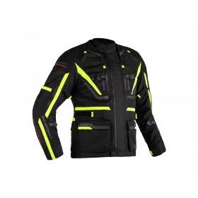 Veste RST Paragon 6 Airbag textile noir/jaune fluo femme