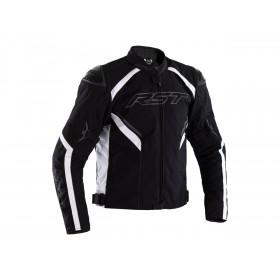 Veste RST Sabre Airbag textile noir/blanc homme