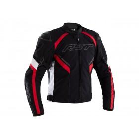Veste RST Sabre Airbag textile noir/blanc/rouge homme