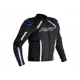 Veste RST S-1 textile noir/blanc/bleu homme