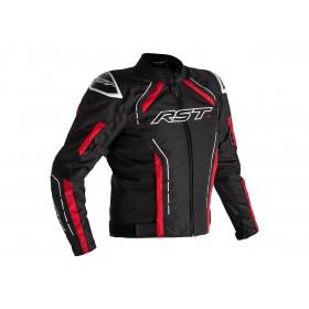 Veste RST S-1 textile noir/rouge/blanc homme